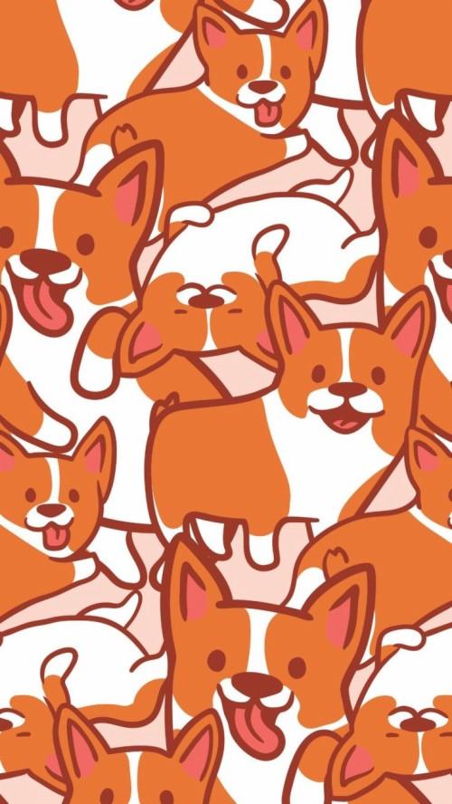 Corgi Wallpaper Iphone Wallpapers Dieren Corgi Hd