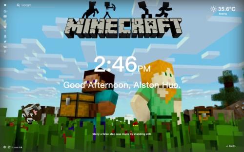 Minecraft Hd Wallpaper New Tab Themeby Alston Huo ảnh
