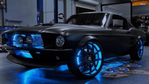 Mustang Hd Wallpaper 69 Mustang Matte Black 285468 Hd