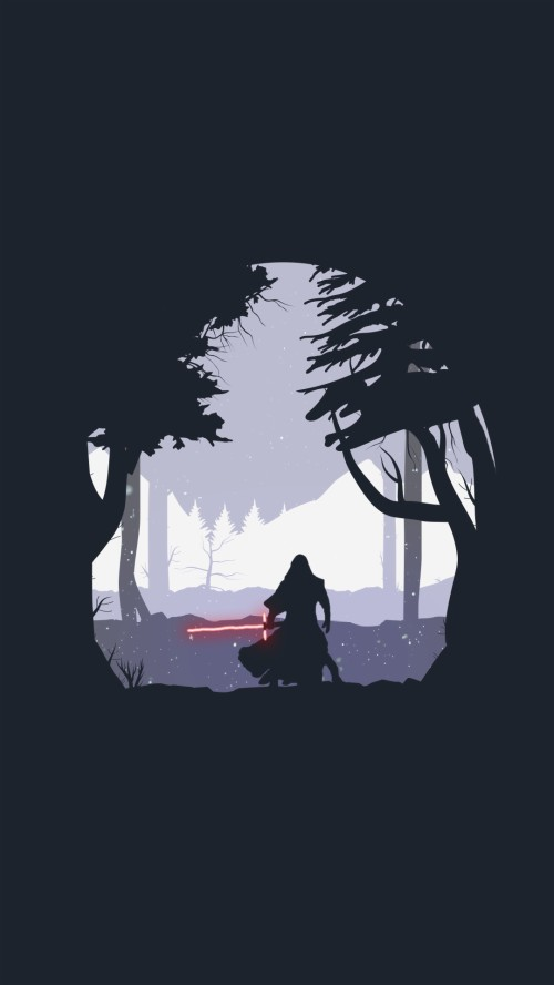 292 2927197 star wars iphone wallpaper the force unleashed kylo