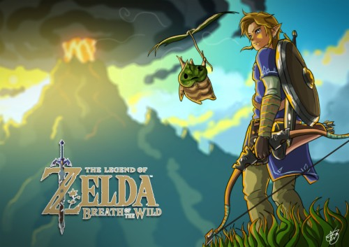 List Of Free Breath Of The Wild Wallpapers Download Itl Cat
