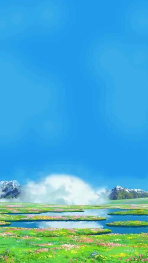 Ghibli Scenery Lockscreens Desktop Howl S Moving Castle Wallpaper Hd 3081164 Hd Wallpaper Backgrounds Download