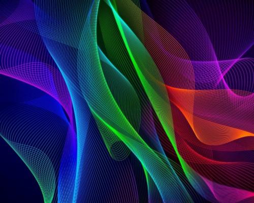 Razer Phone Stock Rainbow Colors Mix Wallpaper 314135