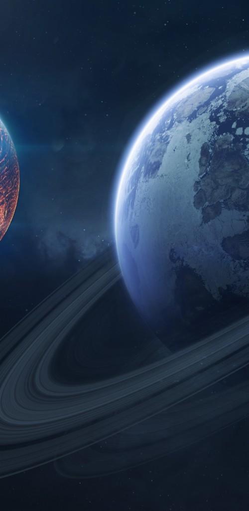 Saturn Space Planet Of Rings Wallpaper Space Wallpaper