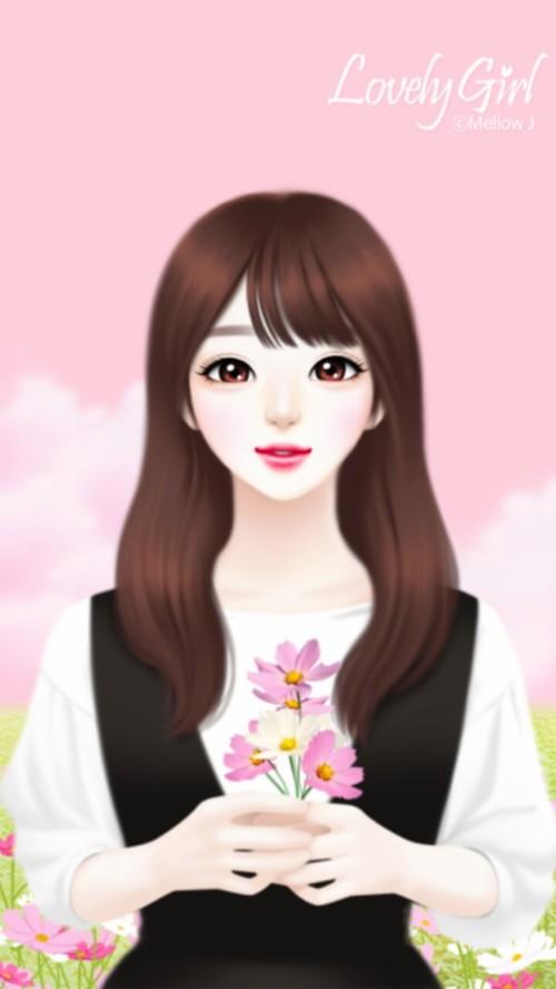 Wallpaper Kartun Korea Terkeren Draw Korean Anime Girl 386085 Hd Wallpaper Backgrounds Download