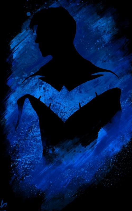 Nightwing Wallpaper 3130891 Hd Wallpaper Backgrounds Download