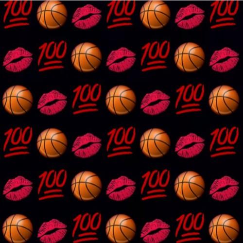 Basketball Lips Emojis Emoji Wallpaper Lockscreen Lock
