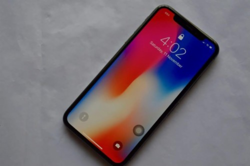 Iphone X Lock Screen No Notifications Locked Iphone X