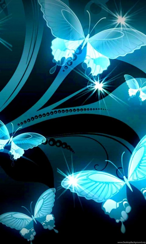 Sparkle With Flowers And Butterfly 2857099 Hd Wallpaper Backgrounds Download