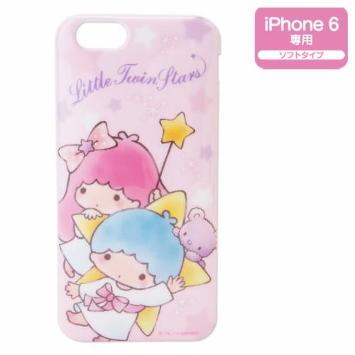 Little Twin Stars Kiki Lala Iphone 6 Soft Cover Case
