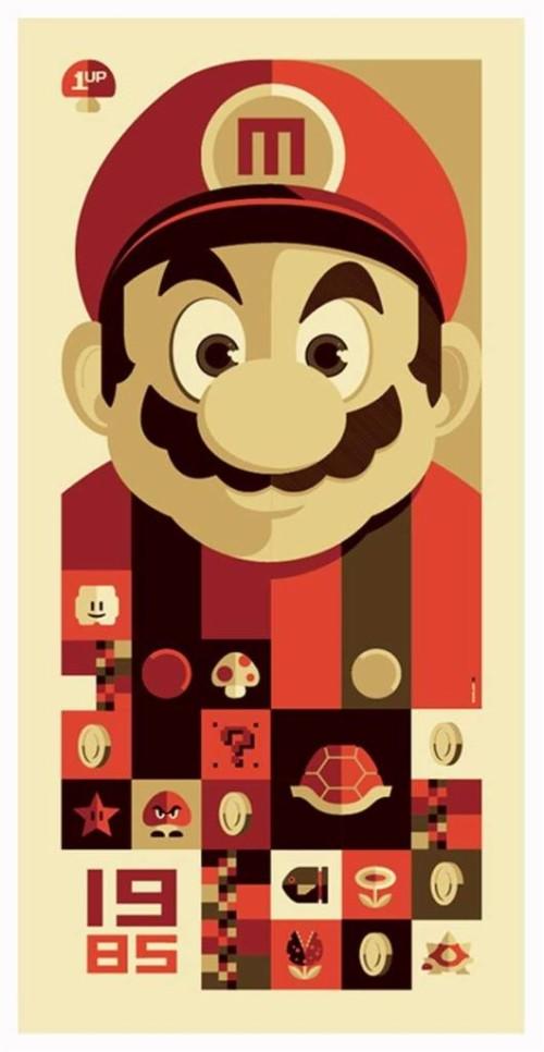 Mario Koopa Propaganda Poster Nintendo Hd Wallpaper Koopa
