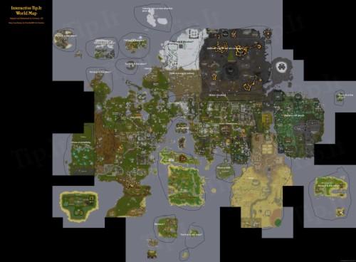 Old School Runescape Wallpaper Inside Osrs World Map ...