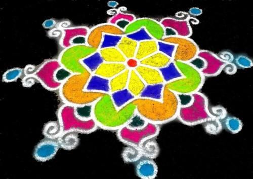 36 diwali rangoli wallpaper rangoli designs with colours for