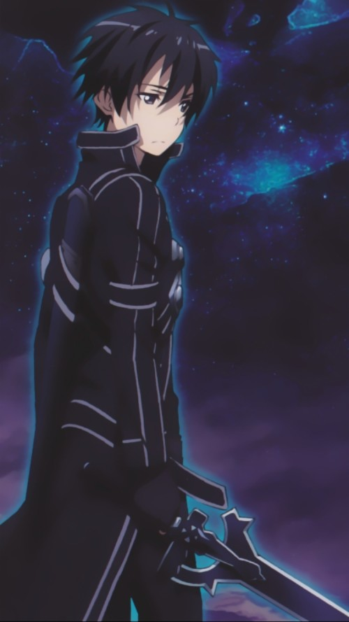 Anime Sword Art Online Mobile Wallpaper Sao Kirito