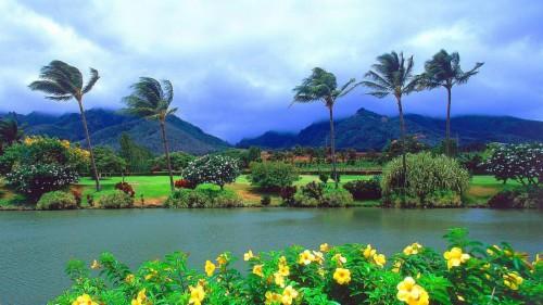 Hawaii Tourismus Wallpaper Kostenlos Kaanapali Beach Maui
