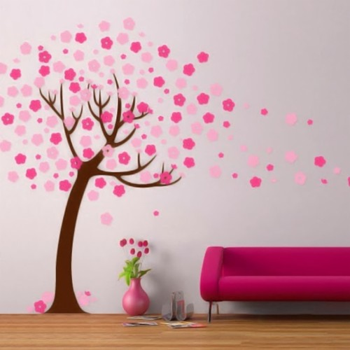 Wallpaper Cantik 4k Wall Painting Stencils Tree 45496