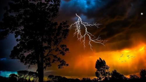 Thunderstorm Live Wallpaper 416134 Hd Wallpaper