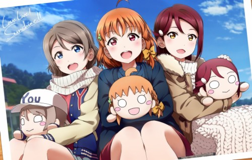 Photo Wallpaper Girls Doll Anime Art Love Live Love