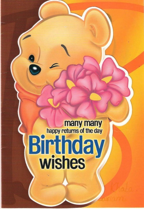 Happy Birthday Wallpaper With Wishes Cute Happy Bday Friend 431179 Hd Wallpaper Backgrounds Download