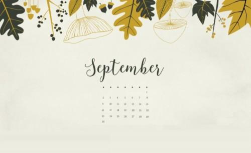 September 2018 Calendar Wallpapers September 2018