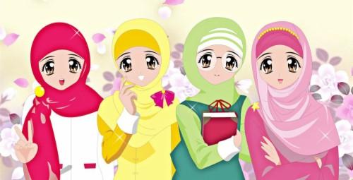 Wallpaper Kartun Muslimah Terbaru 2018 1168589 Hd Wallpaper Backgrounds Download