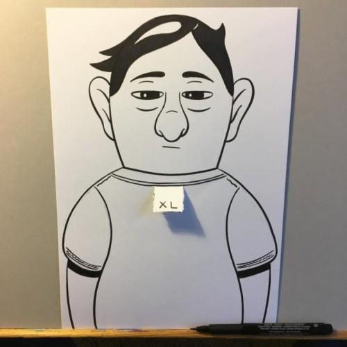 Contoh Gambar 3 Dimensi: Gambar 3 Dimensi Kartun Muslimah