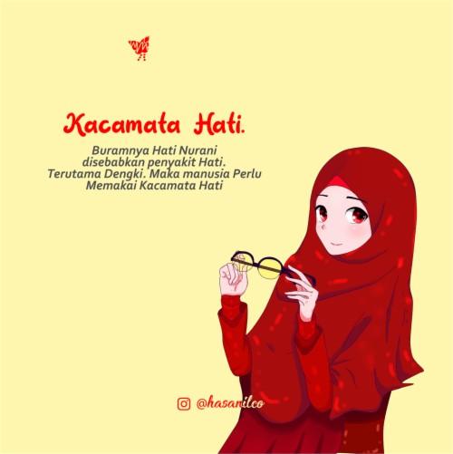Made By Counterpoint Magazine Kartun Muslimah Couple Romantis