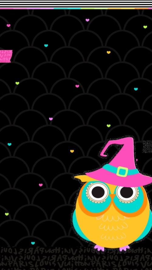 Spooky Halloween Owls 2252445 Hd Wallpaper