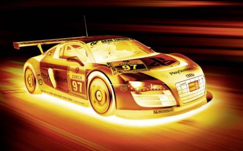 One Hot Audi Wallpaper Neon Cool Car Backgrounds 468667 Hd Wallpaper Backgrounds Download