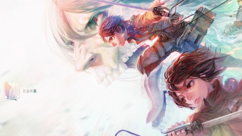 Wallpaper Of Eren Yeager Levi Ackerman Anime Attack Best Digital Art Anime 475076 Hd Wallpaper Backgrounds Download