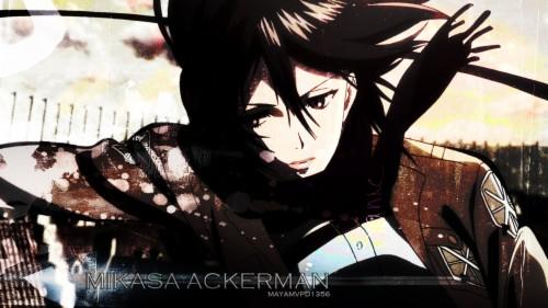 Mikasa Ackerman 39 Wide Wallpaper Chibi Mikasa Junior High 475032 Hd Wallpaper Backgrounds Download