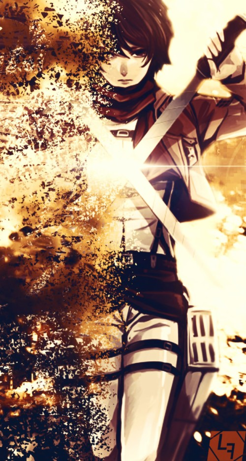 Mikasa Wallpaper Shingeki No Kyojin Celular 474832 Hd Wallpaper Backgrounds Download