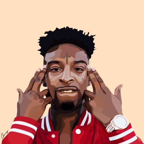 The Best 21 Savage Wallpaper Cartoon