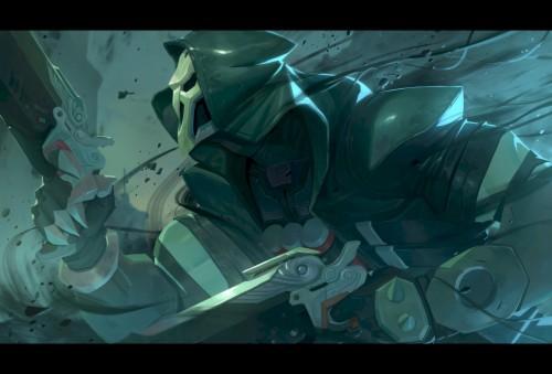 Grim Reaper Live Wallpapers Reaper Wallpaper Overwatch 4k