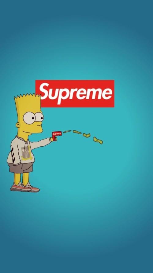 Cartoon Hypebeast Supreme Wallpaper Rap Cartoon | Brengsek ...