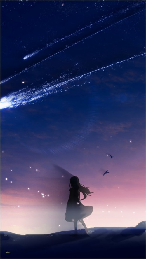 Unique Anime Scenery Iphone Wallpapers Collection Japan Night