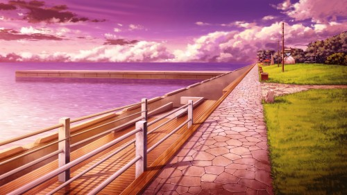 Anime Scenery Wallpaper Anime Landscape 491322 Hd Wallpaper Backgrounds Download