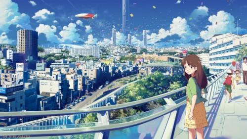 Wallpaper Anime Scenery Wallpaper For Laptop 155444 Hd Wallpaper Backgrounds Download