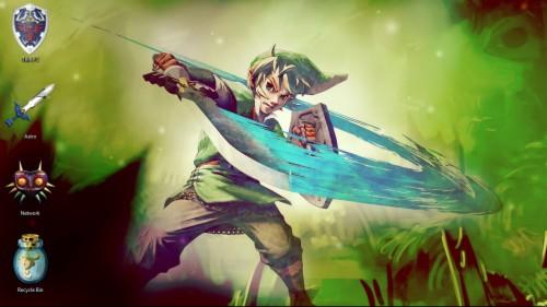 Wallpaper De Zelda Skyward Sword Link Vs Breath Of The