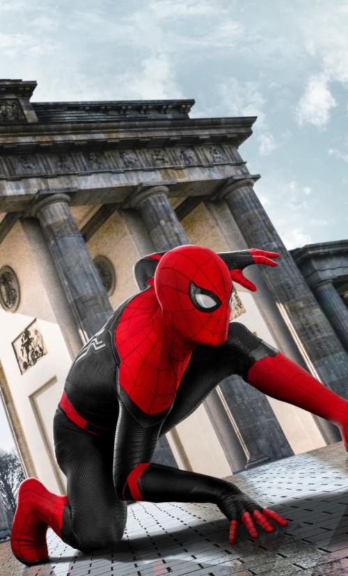2019 Spider Man Far From Home Movie Poster Spider Man Far