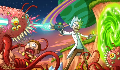 Steam Workshop Rick And Morty Wallpaper Animated - Engine ...