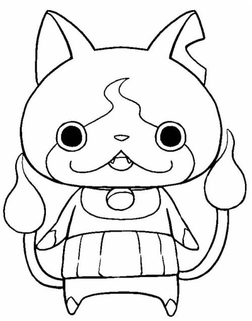 Marvelous Coloriage Yo Kai Watch Jibanyan Yo Kai Watch Para Colorear 586987 Hd Wallpaper Backgrounds Download