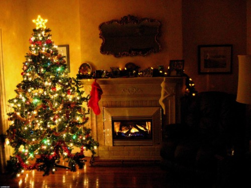 6 63393 christmas desktop backgrounds christmas trees in homes