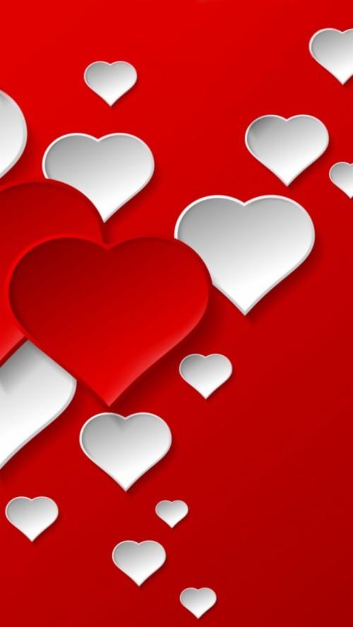Facebook Happiness Heart Hindi Whatsapp Wallpaper Full