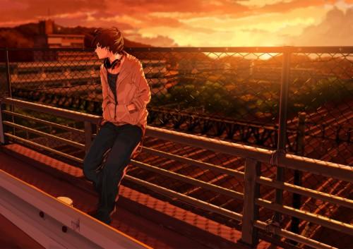 Sadboy Wallpaper Anime Sad Picture Cartoon 604848 Hd Wallpaper Backgrounds Download