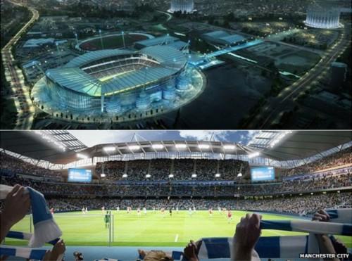 Etihad Stadium Wallpaper New Manchester City Stadium