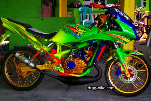 Wallpaper Motor Modifikasi Ninja Rr Drag 621032 Hd