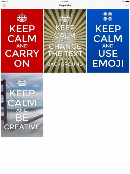 Keep Calm Creator On The App Store Keep Calm And Carry