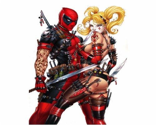 Harley Quinn And Deadpool 2233501 Hd Wallpaper