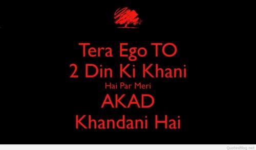 Hindi Whatsapp Dp Status Attitude Whatsapp Status For
